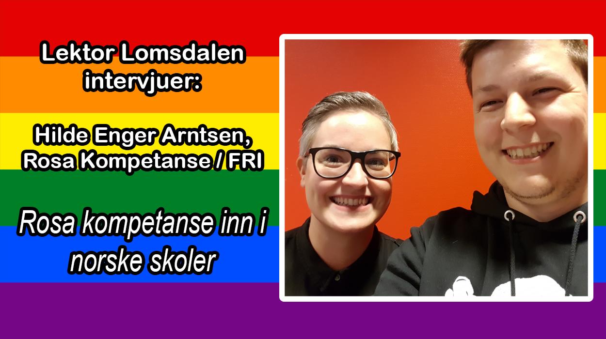 LL-37: Rosa Kompetanse til norske skoler