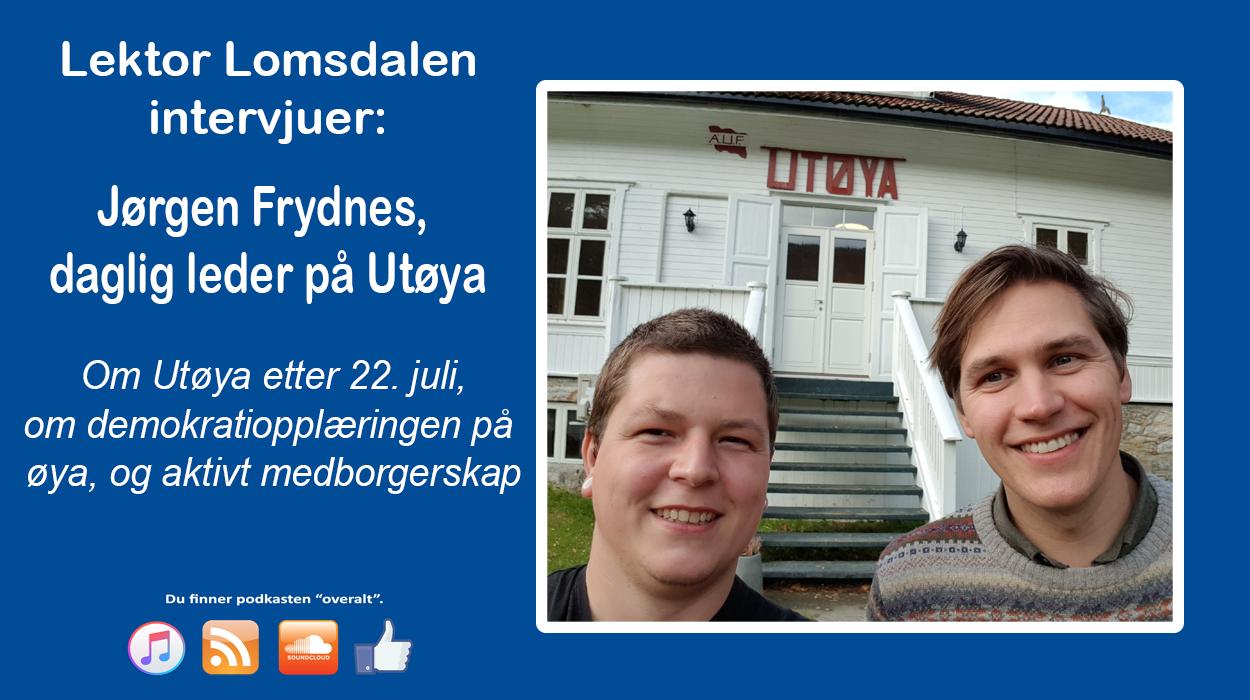 LL-60: Utøya –  leirsted, minnesmerke, og demokrativerksted
