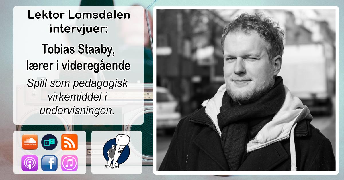 LL-112: Tobias Staaby om spill i skolen