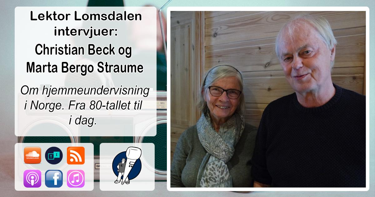 LL-125: Christian Beck og Marta Straume om norsk hjemmeundervisningshistorie