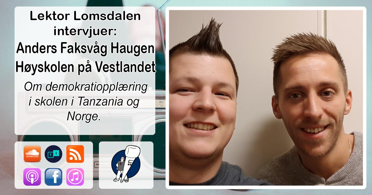 LL-136: Anders Daniel Haugen om medborgerutdanning