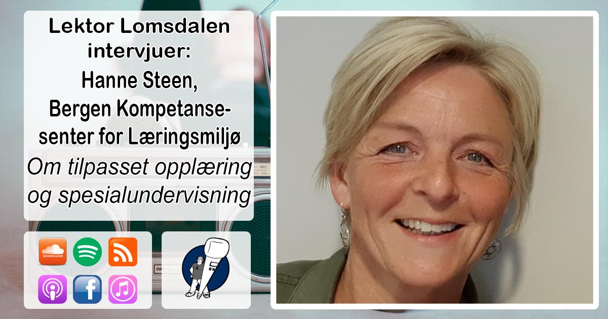 LL-174: Hanne Steen om inkludering og tilpasning