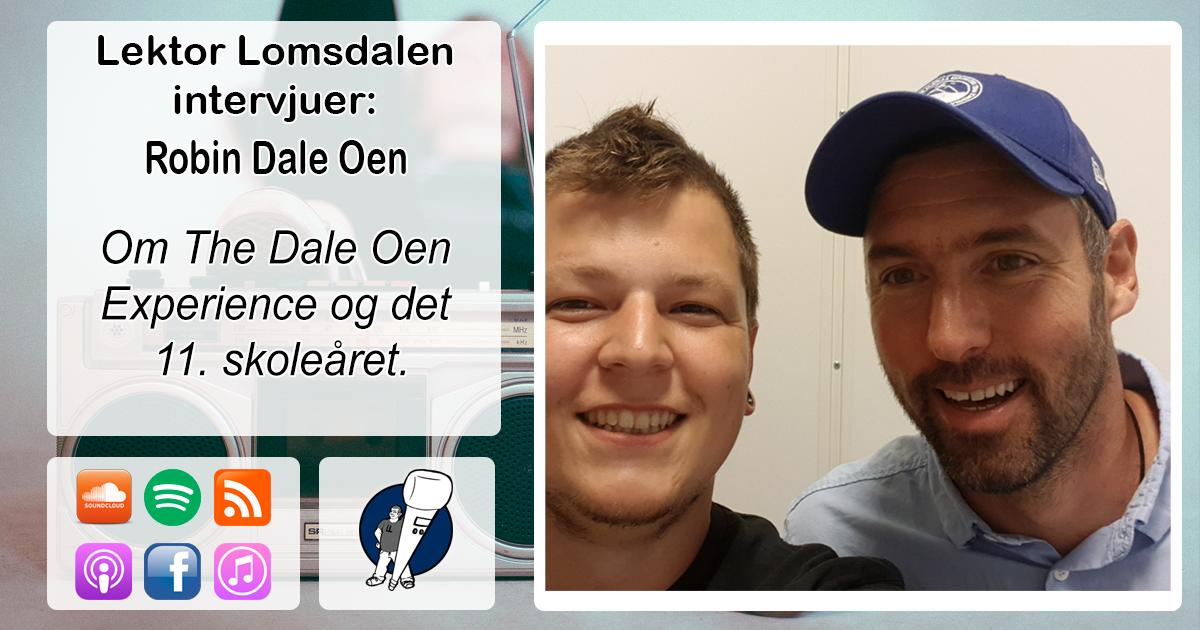 LL-177: Robin Dale Oen om The Dale Oen Experience