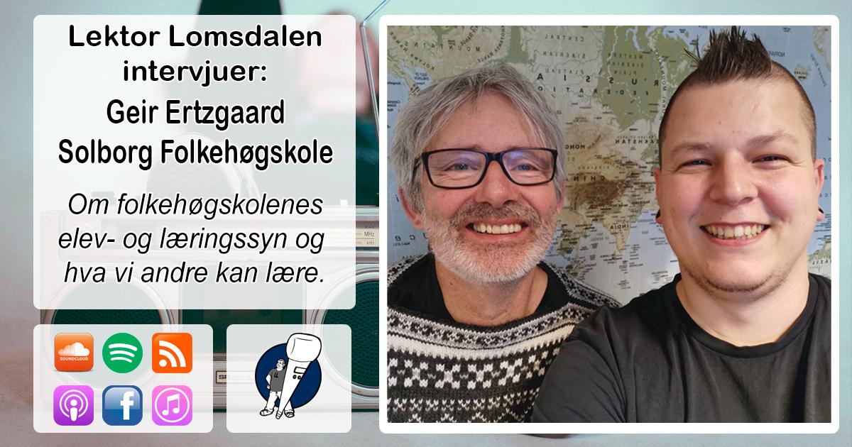 LL-199: Geir Ertzgaard om folkehøgskolepedagogikken