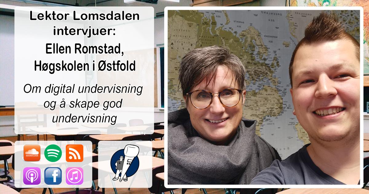 LL-202: Ellen Romstad om digital undervisning og kompetanse