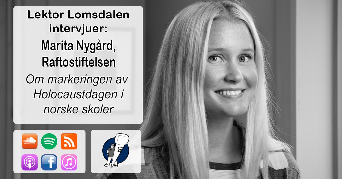 LL-216: Marita Nygård om Holocaustdagen