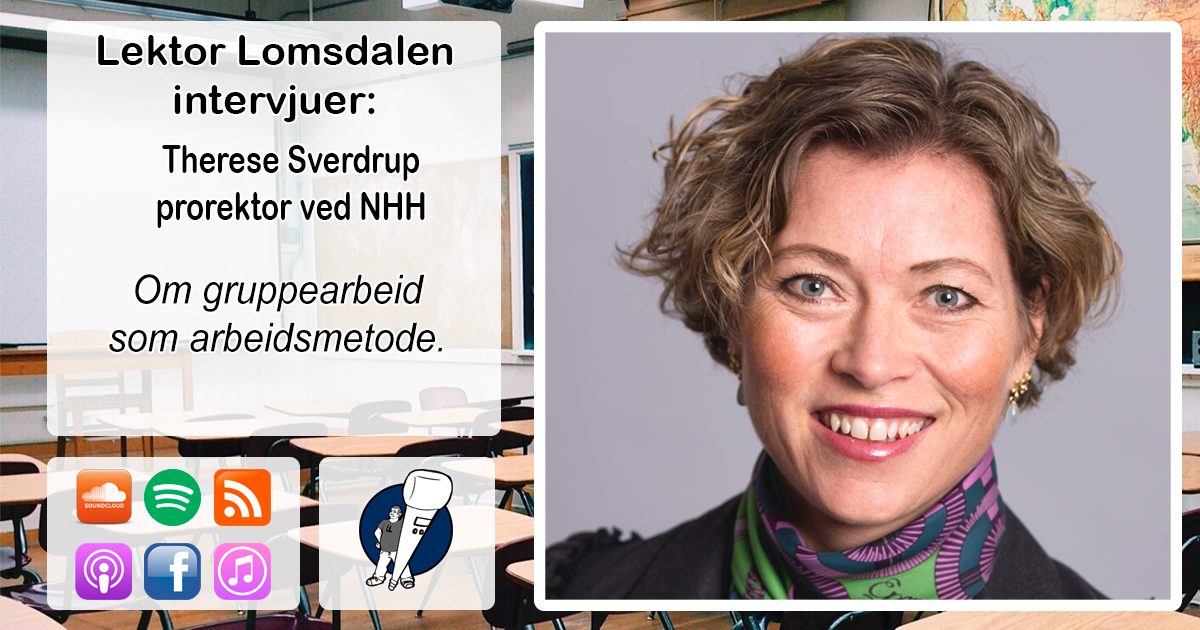 LL-222: Therese Sverdrup om gruppearbeid