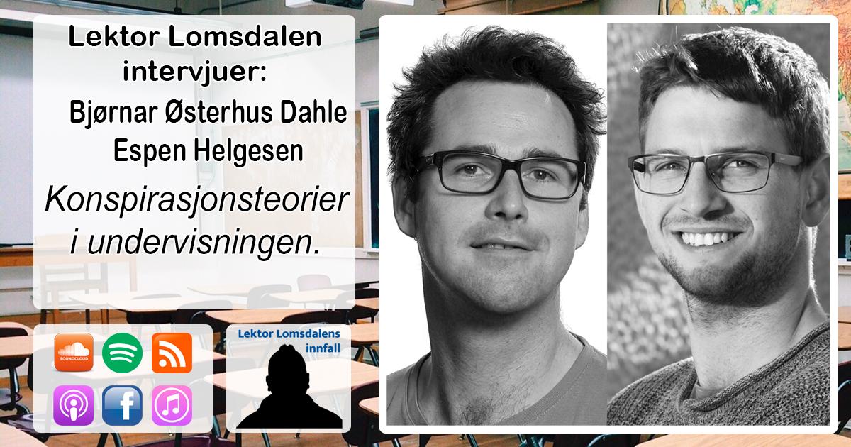 LL-232: Helgesen og Dahle om konspirasjonsteorier