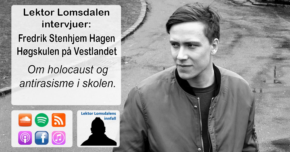 LL-242: Fredrik Hagen om holocaust og antirastisk undervisning